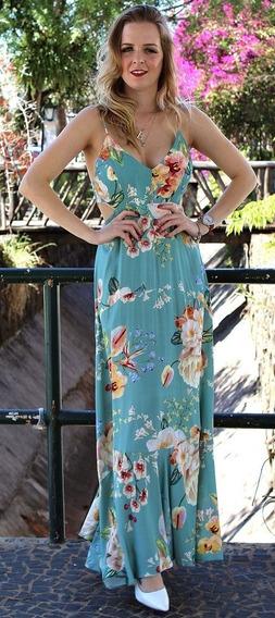 Farm Vestido Longo Floral Hannah