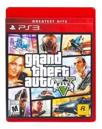 Grand Theft Auto Gta V Ps3 Nuevo
