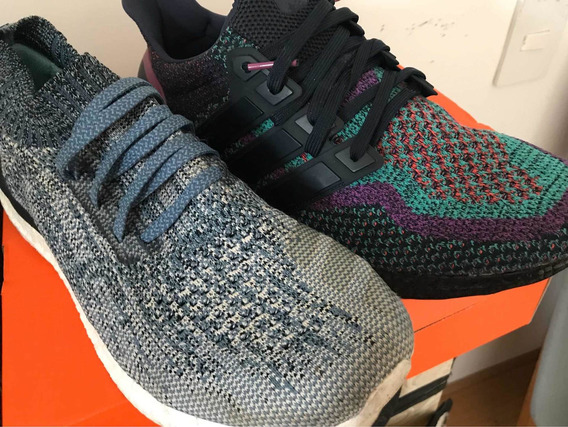 2 Pares adidas Ultraboost + Uncaged Parley