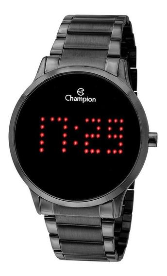 Relógio Led Champion Ch40035d Preto