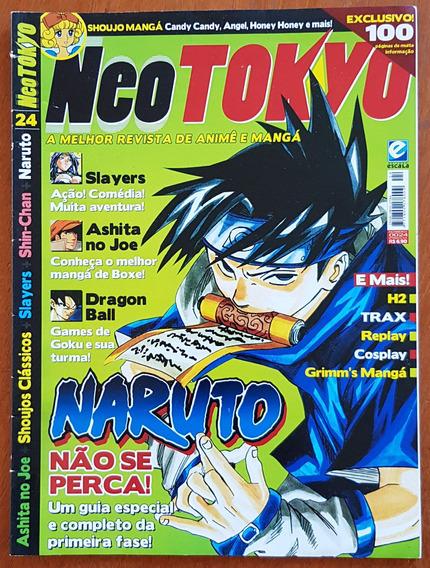 Revista Neo Tokyo Nº 24 Naruto Slayers Dragonball