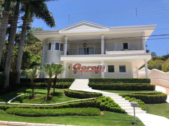 Casa Com 5 Dormitórios À Venda, 800 M² Por R$ 6.500.000,00 - Condomínio Arujá Hills I E Ii - Arujá/sp - Ca1523