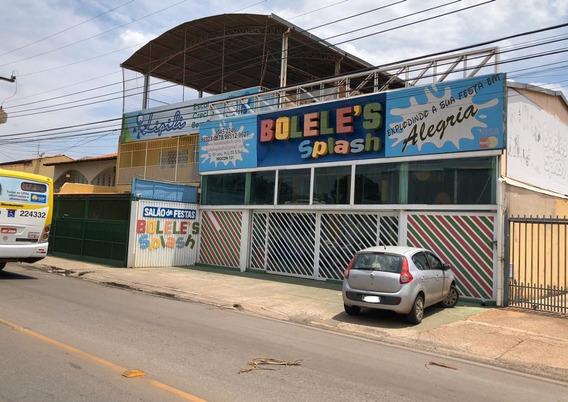 Aluga-se Ponto Comercial (salão Festas Infantil) + Casa