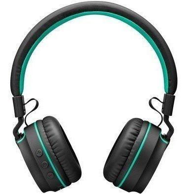 Headset Pulse Fun Bluetooth Ph215 Preto E Verde