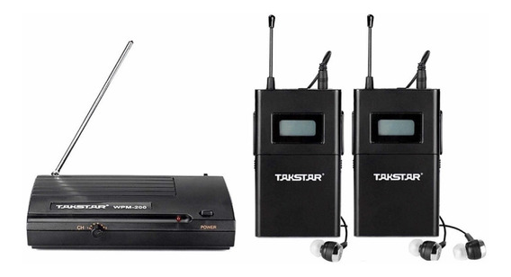 Takstar Wpm200 Com 2 Receptores