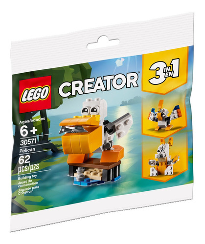 Bolsa Creator Pelicano Lego - 30571