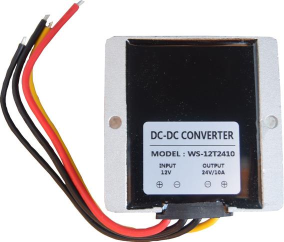 Convertidor (dc/dc) De Voltaje 12v A 24v 10a