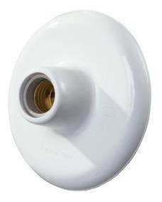 Plafon Simples Branco Enerlux E27 = 12 Pçs