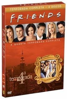 Dvd Série Friends 4a Temporada 4 Discos Com Luva