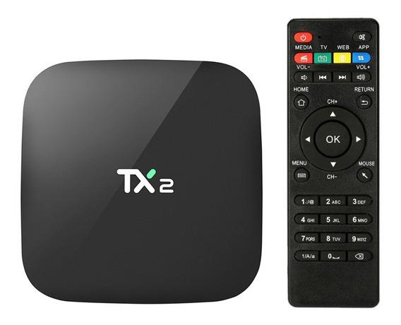 Caixa De Televisão Inteligente 2gb+16gb Andriod 6.0 Netflix