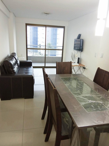 Apartamento Mobiliado, 3 Quartos, Próximo Avenida Beira Mar