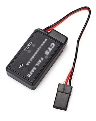 Imagen 1 de 4 de Bqlzr Negro 48 V-6 V Fail Safe Suit Para Todos Rc Nitro Car