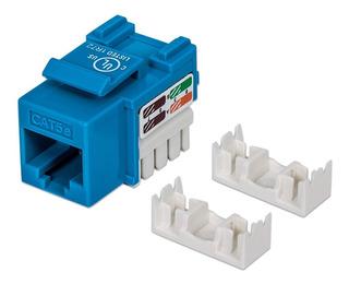 Conector Jack Categoria 5e Impacto Ic-210546 Azul Intellinet