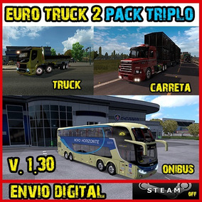 Euro Truck 2 Brasil - Simulador Ônibus + Caminhão + Truck