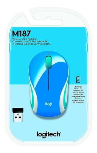 Imagem 1 de 1 de Mouse Wireless Logitech M187 Sem Fio - 2860