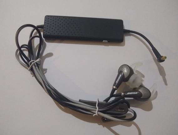 Fone Bose Quietcomfort 20i Noise Cancelling Usado Impecável