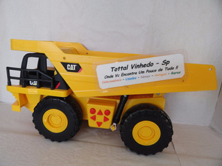 Caminhão Cat Caterpillar Eletrônica Original Toy State *
