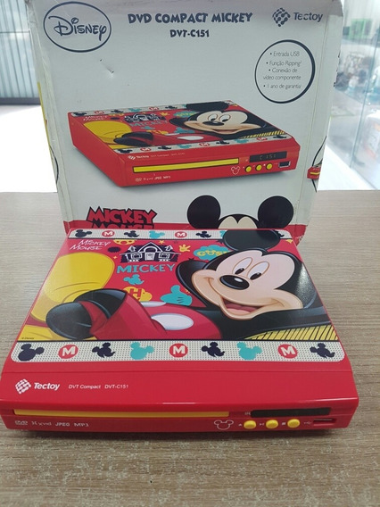 Dvd Compact Mickey Tectoy