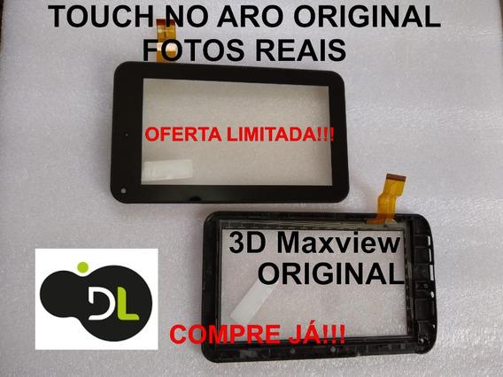 Touch Dl 3d Maxview 7 Polegadas 30 Vias Original No Aro Obá
