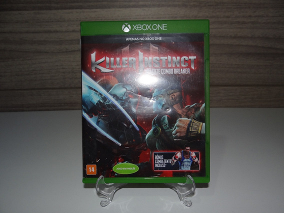 Killer Instinct Midia Fisica Xbox One Original