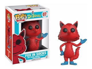 Fox In Socks Funko Pop Dr. Seuss Cat In The Hat