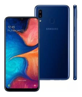 Celular Samsung Galaxy A20 Dual 32 Gb 3 Gb Ram A205 Azul