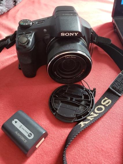 Camera Sony Hx200v Sem O Cabo De Alimentação