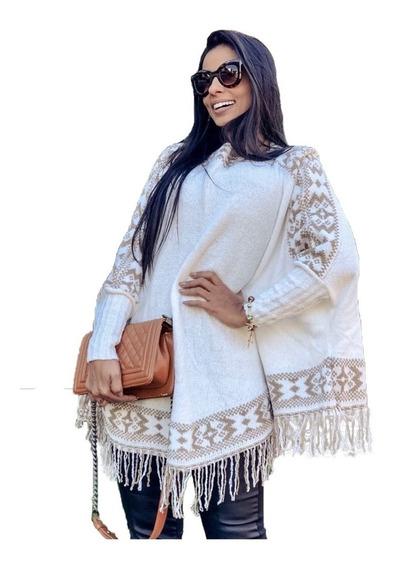 Poncho Feminino Da Moda Casacos Blusas Roupas Queima Estoque