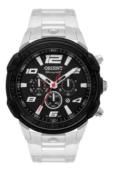 Relógio Masculino Orient Mbssc172 P2sx Analógico Cronógrafo