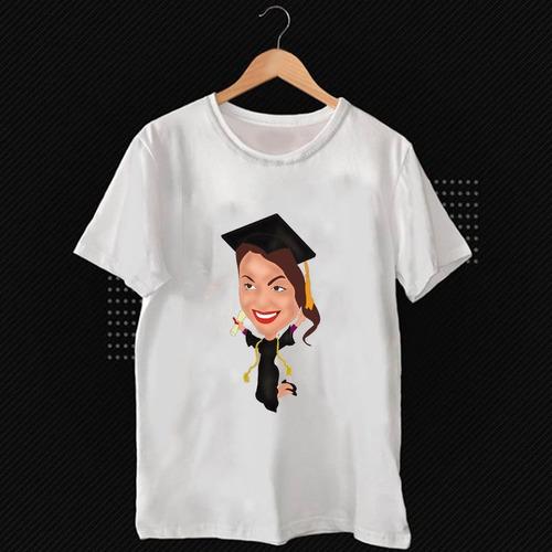 Camisa Personalizada Com Caricatura