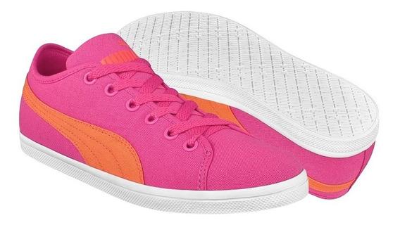 Tenis Casuales Para Dama Puma 35674915 Rosa Naranja