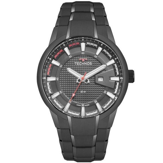 Relógio Technos Masculino Racer Preto 2117law/4p