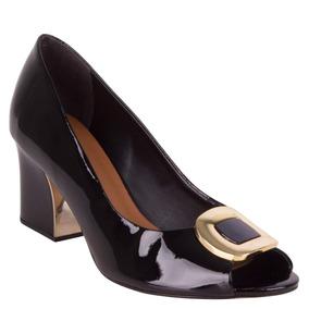 Zapato Vestir Pollini Mujer Negro - S223