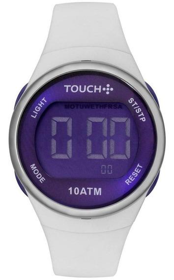 Relógio Unissex Touch Ela É Fit Ela Bicolor - Original