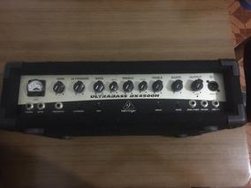 Cabeçote Amplificador Baixo Behringer Bx4500h 450w Rms