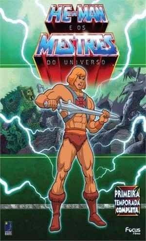 Box Dvd: He-man Os Mestres Do Universo 1ª Tem. Complet Orig.