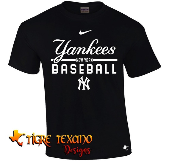 Playera Beisbol Mlb Yanquis Ny Mod K By Tigre Texano Designs