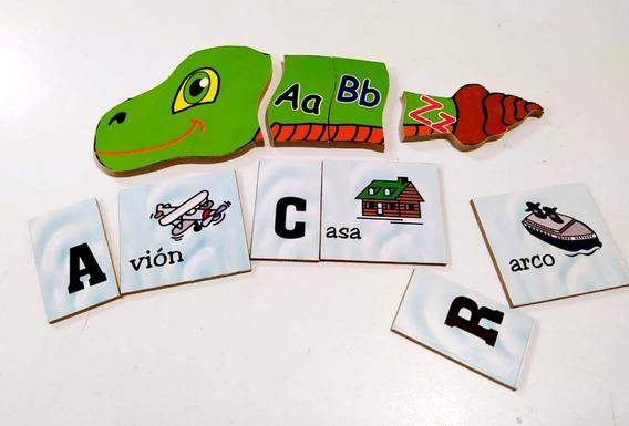 Kit Abecedario Abc Didactico Aprender A Leer Alfabeto