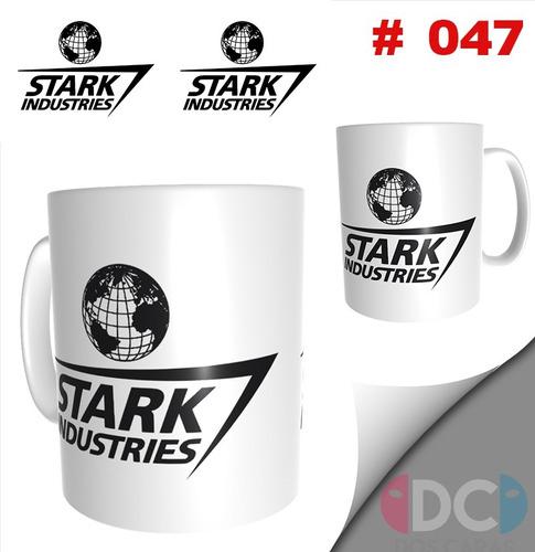 Taza  Comics Coleccionable  Stark Industries Iron Man  #047