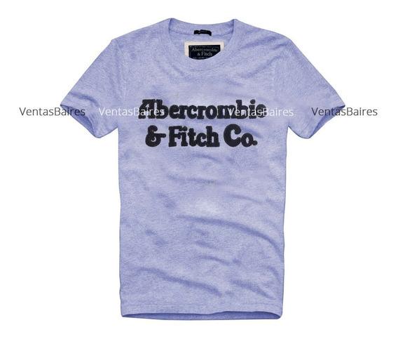 Remeras Hollister Y Abercrombie Bordadas Con Relieve A00153