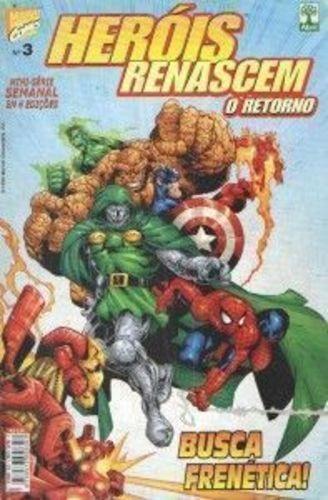 Heróis Renascem O Retorno - Mini-série Em 4 Edições Completa
