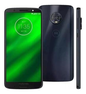 Smartphone Moto G6 Plus Xt1926-08 Original 64gb Vitrine Nfe