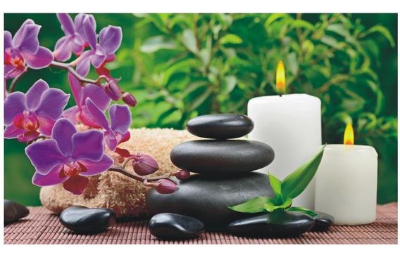 Adesivo Parede Spa Estética Bem Estar Massagem Salão J 217