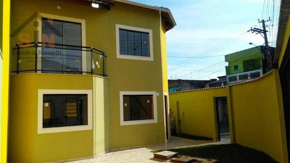 Sobrado Com 2 Dormitórios À Venda, 75 M² Parque Piratininga - Itaquaquecetuba - So0134