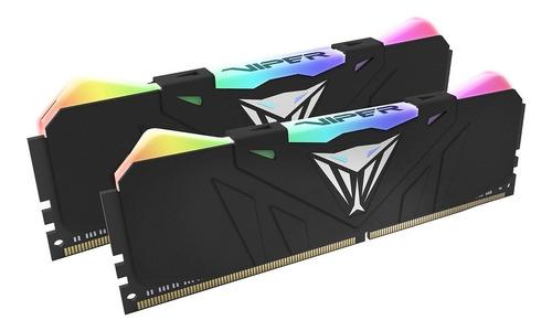 Memoria RAM 16GB 2x8GB Patriot PVR416G320C6K Viper RGB