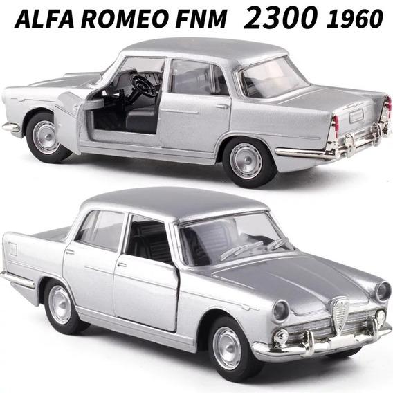 Miniatura Alfa Romeo Fnm Jk 1960 Clássicos Nacionais 1:38