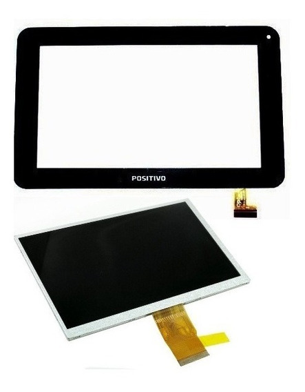 Display Lcd + Tela Touch Screen Tablet Positivo T701 Tv 7