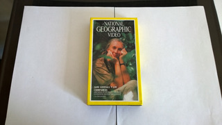 Jane Goodall Y Los Chimpances Vhs National Geographic Video