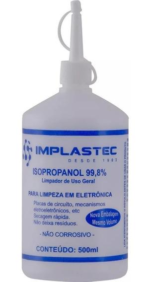 Álcool Isopropílico Isopropanol 500ml Implastec