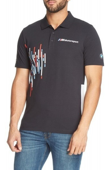 Playera Puma Polo Bmw 2.0 Motorsport Azul Originales Meses